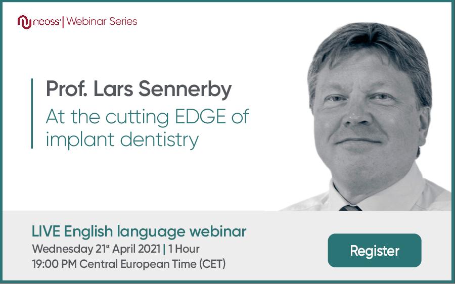 Prof. Lars Sennery Webinar